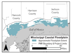 Project Information Mississippi Coastal Map Revision Project